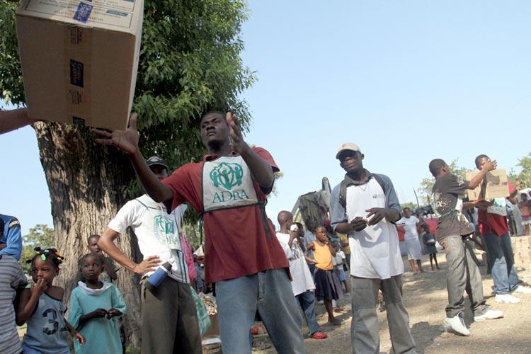 Pomoć postradalima u zemljotresu na Haitiju 2010.