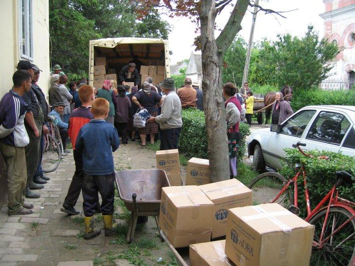 Pomoć ugroženima od poplava 2006.