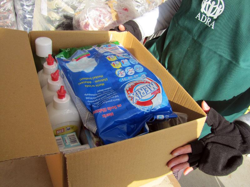 Pomoć poplavljenima u Loznici