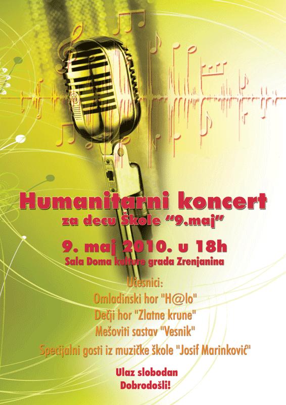 Humanitarni koncert u Zrenjaninu